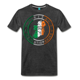 Irish Logo Men's Premium T-Shirt - charcoal gray
