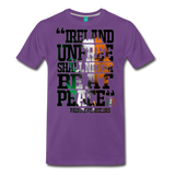 Padraig Pearse Men's Premium T-Shirt - purple