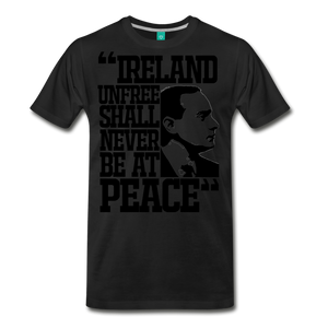 Padraig Pearse Men's Premium T-Shirt - black