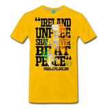 Padraig Pearse Men's Premium T-Shirt - sun yellow
