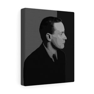 Padraig Pearse Black & White Canvas Gallery Wrap