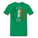 Irish Logo Men's Premium T-Shirt - kelly green