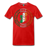 Irish Logo Men's Premium T-Shirt - red