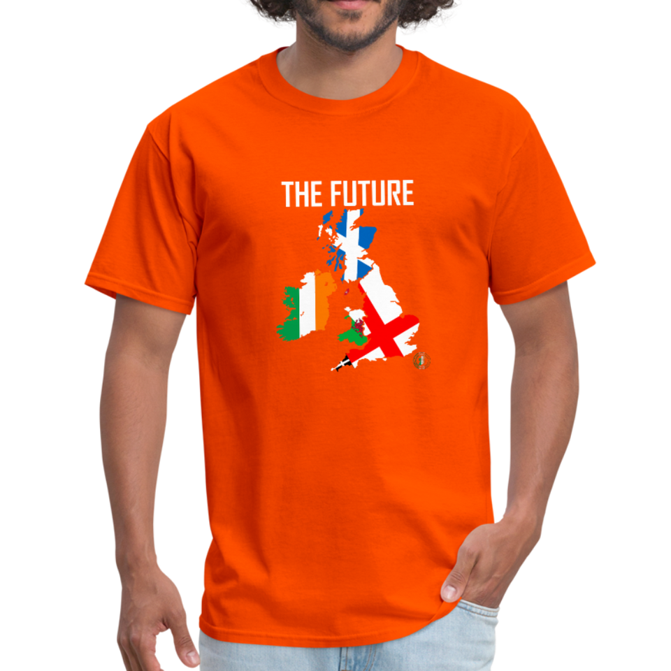 Brexit - The Future Men's T-Shirt - orange