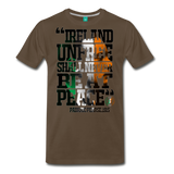 Padraig Pearse Men's Premium T-Shirt - noble brown