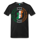 Irish Logo Men's Premium T-Shirt - black
