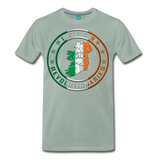 Irish Logo Men's Premium T-Shirt - steel green
