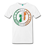 Irish Logo Men's Premium T-Shirt - white