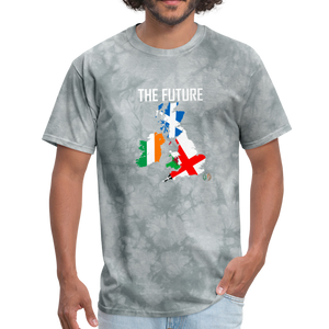 Brexit - The Future Men's T-Shirt - grey tie dye