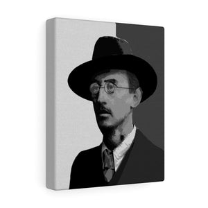 Joseph Plunkett Black & White Canvas Gallery Wrap