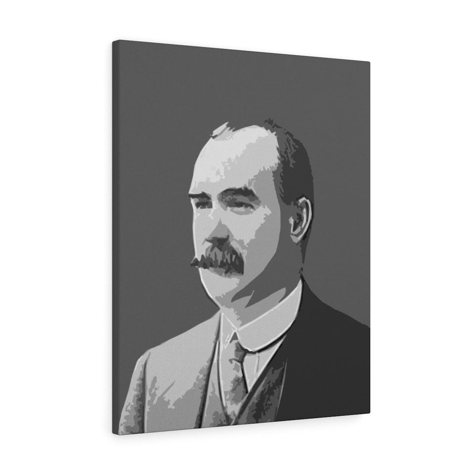 James Connolly Black & White Canvas Gallery Wrap