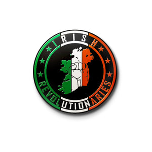 Irish Revolutionaries Logo Enamel Pin Badge✊🇮🇪