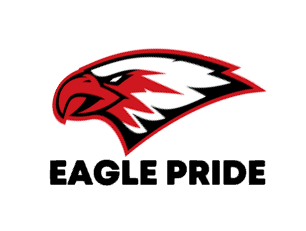 of Eagle pride design on Gildan short sleeve tshirt (choose your color)