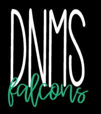 DNMS tall design sweatshirt