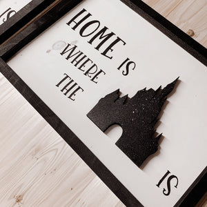 Home is ..
