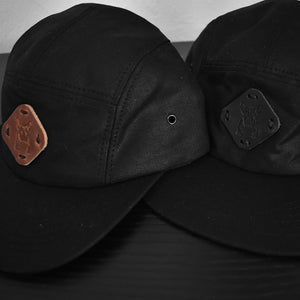 Waxed Canvas 5 Panel Hat