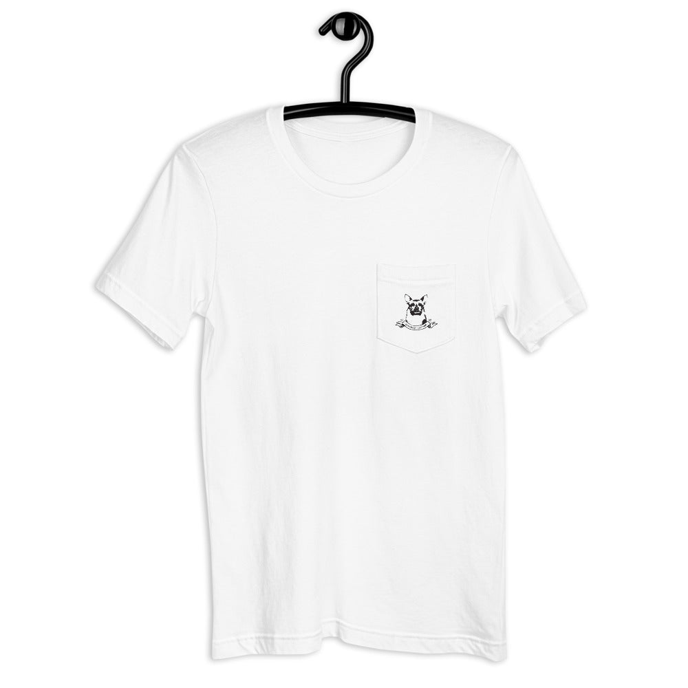 Franklin Pirate Unisex Pocket T-Shirt