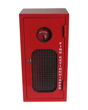 Load image into Gallery viewer, Fire Extinguisher Cabinet 2.5KG, FREE location sign + ID sign