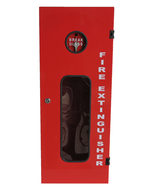 Fire Extinguisher Cabinet 9.0Kg, FREE location sign + ID sign