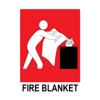 Load image into Gallery viewer, Fire Blanket 1m x 1m, FREE location sign