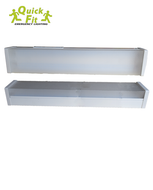 2x9w 2 Foot Twin LED Batten Light