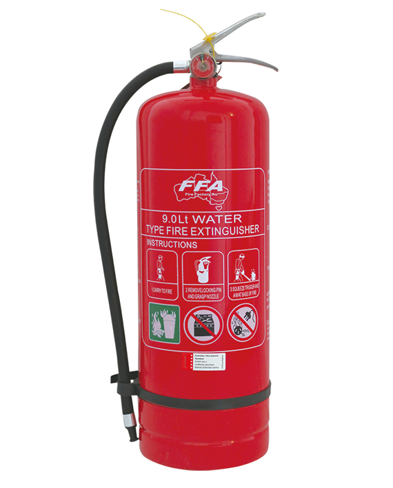 Fire Extinguisher 9.0Litre air/Water (Pick up only)