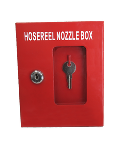 Fire Hose Reel Nozzle Lock Box