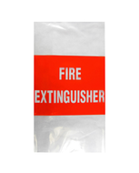 Fire Extinguisher Cover, Thick UV Plastic (fits 9.0Kg)