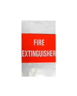 Fire Extinguisher Cover Plastic (fits 4.5Kg)