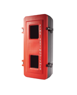 Fire Extinguisher Cabinet 4.5kg Medium Plastic, FREE location sign + ID sign