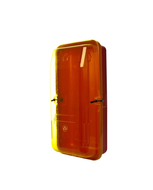 Fire Extinguisher Cabinet 4.5Kg Plastic-Yellow Transparent Front Cover, FREE location sign + ID sign