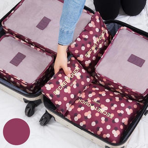 Luggage Packing Organizer Set - Redbovi.com