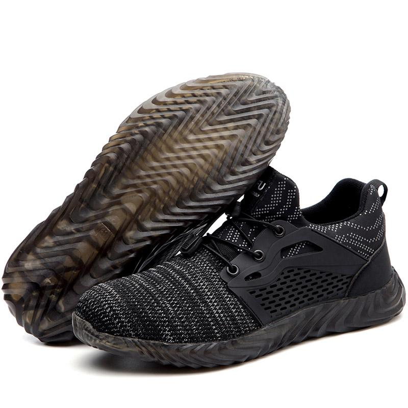 Military Grade Steel Toe Air Mesh Breathable Safety Shoes