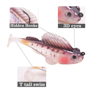 8pcs Jumping Fish Fishing Bait - Redbovi.com