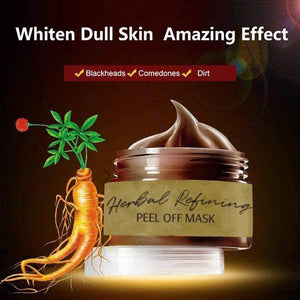 Herbal refining peel off mask