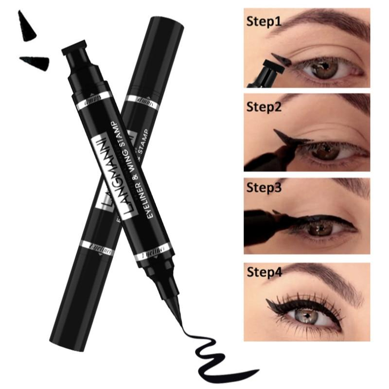 vamped winged eyeliner stamp - Redbovi.com