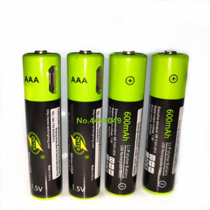 AAA USB RECHARGEABLE BATTERY - Redbovi.com