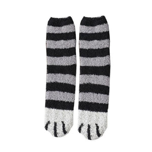 Winter Cat Claws Cute Thick Warm Sleep Floor Socks - Redbovi.com