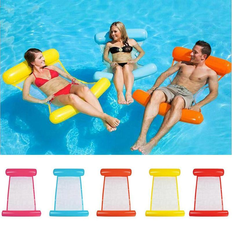 Swimming Pool Foldable Inflatable Floating Chair - Redbovi.com