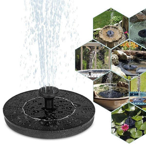 Solar Powered Bird Fountain - Redbovi.com