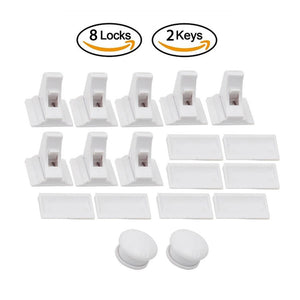BABY PROOF MAGNETIC CABINET/DRAWER LOCKS - Redbovi.com