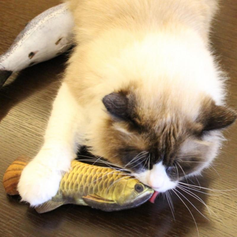 Cat Toy Fish Pillow