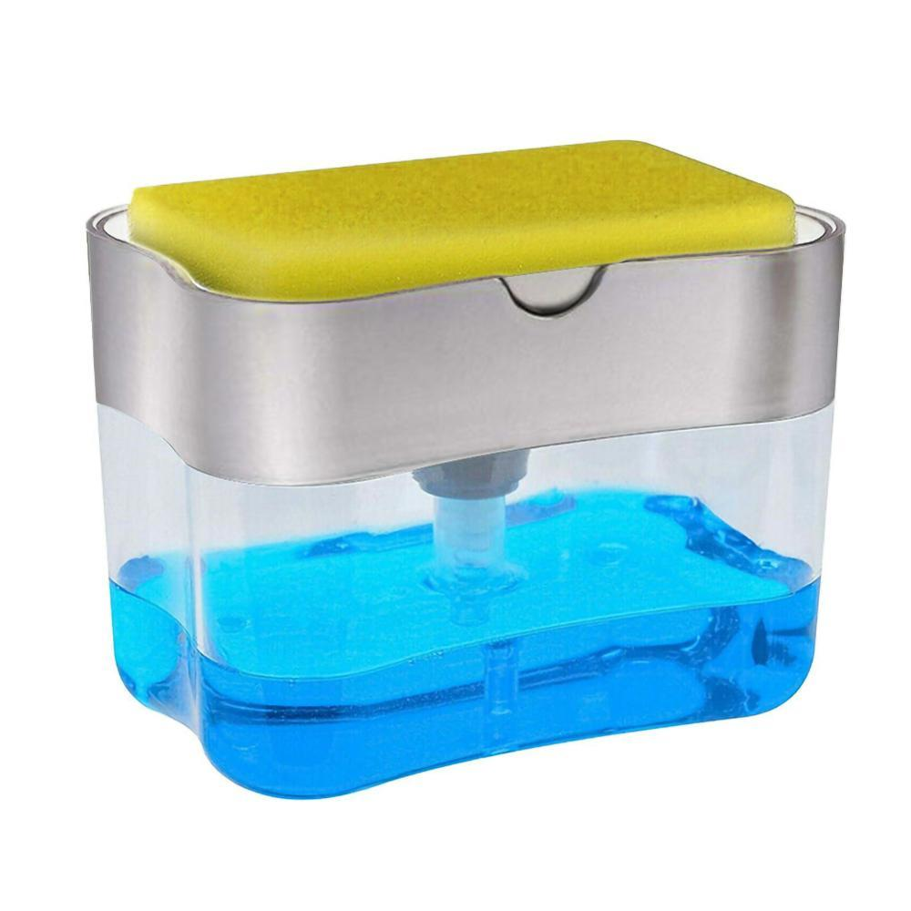 SOAP PUMP AND SPONGE CADDY - Redbovi.com