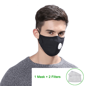 PM2.5 Mask + 2 FREE Filter - Redbovi.com