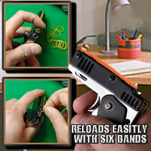 POCKET RUBBER BANDERS GUN