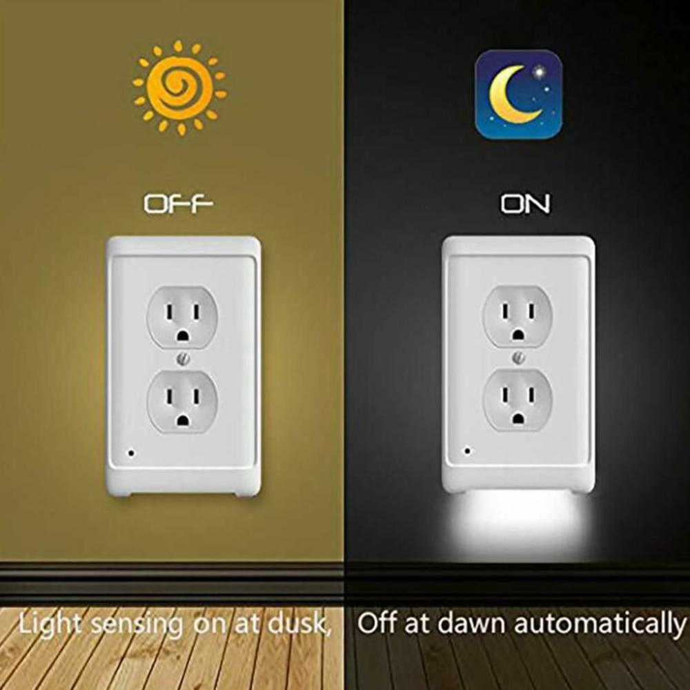 LED Outlet Wall Plates - Redbovi.com
