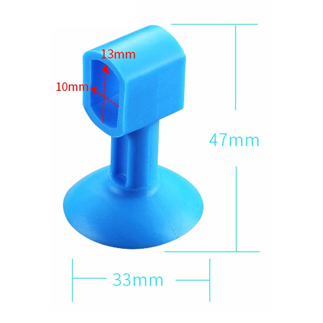 Anti-Collision Perforation Free Silicone Door Handle Stoppers - Redbovi.com