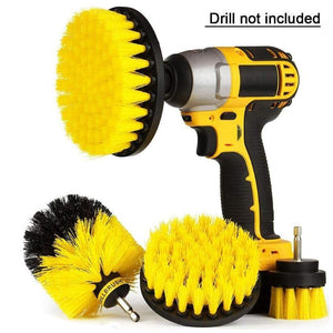 4Pcs Drill Brush Kit - Drill BrushPower. - Redbovi.com