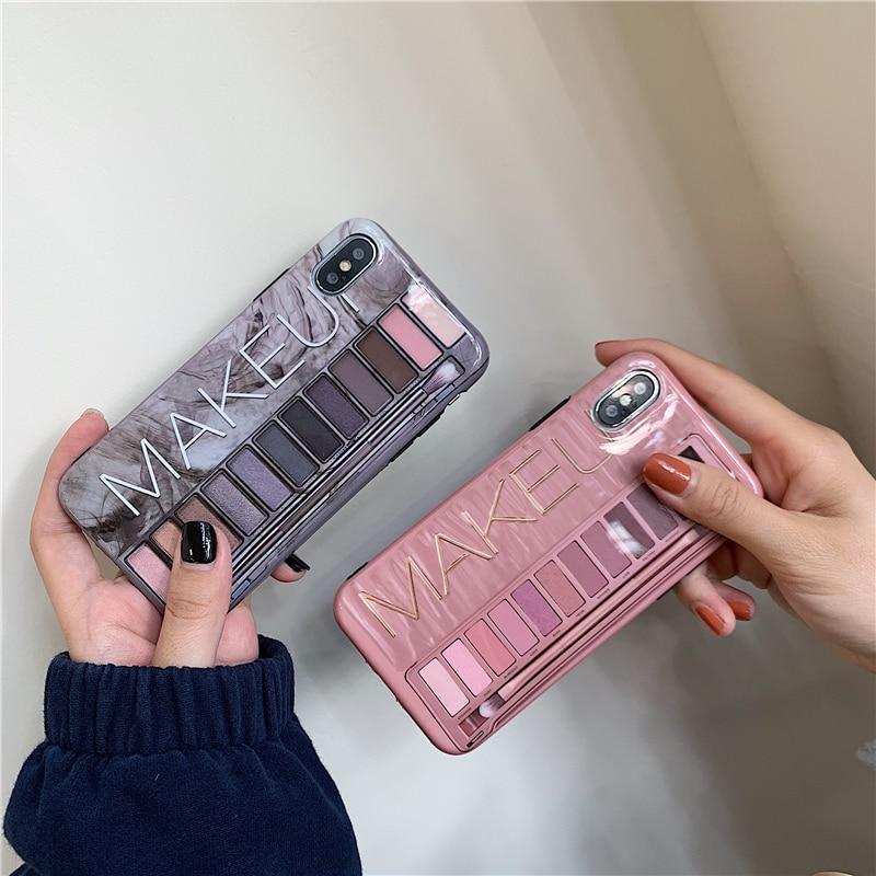Makeup Eyeshadow Palette Phone Case - Redbovi.com