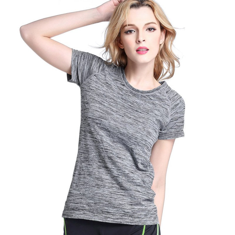 Women Sports  T Shirt For Yoga Fitness Running Jogging Gym Quick Dry - BHsportswear.com